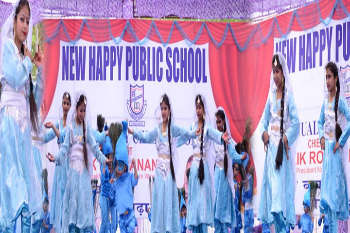 New Happy Public School Bilaspur-Dance