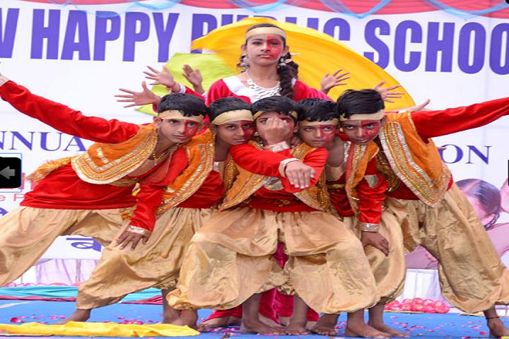 New Happy Public School Bilaspur-Group Performance