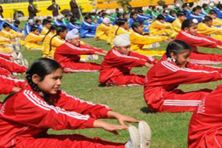 New Happy Public School Bilaspur-Yoga
