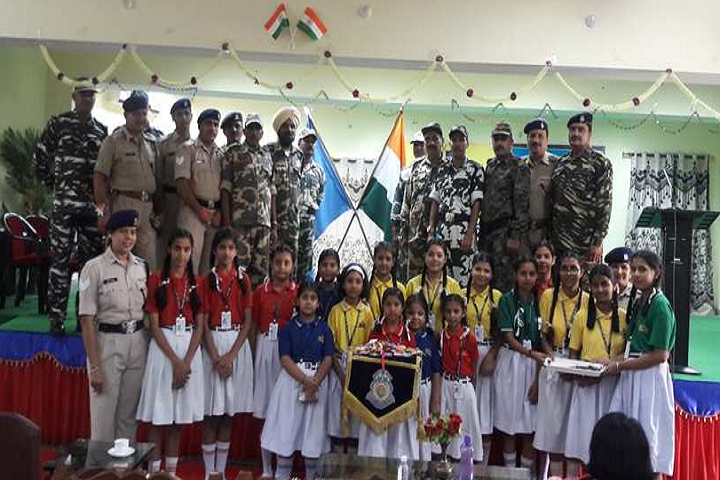 New India Public School-Military People