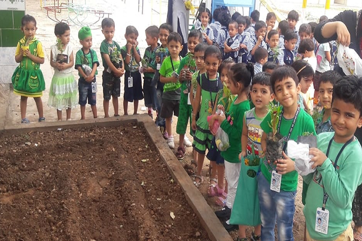 New India Public School-Tree Plantation