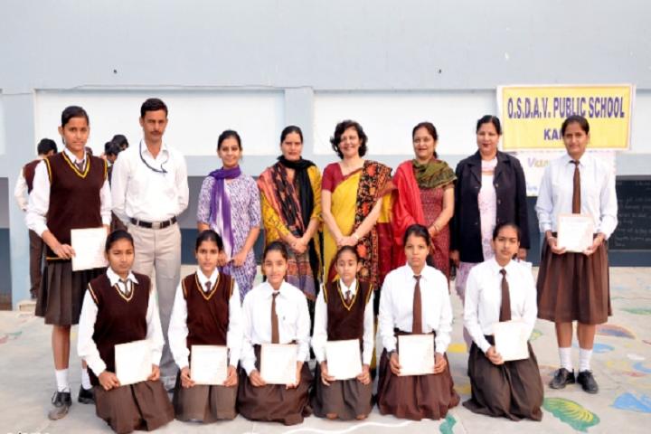 OS DAV Public School-Group Photo