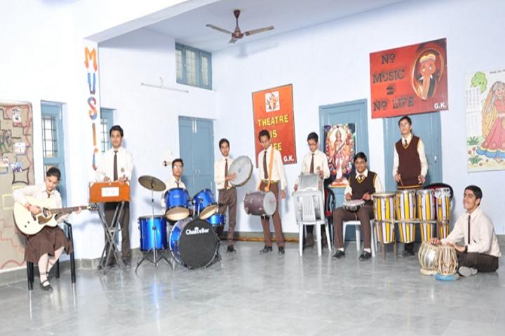 OS DAV Public School-Music Room