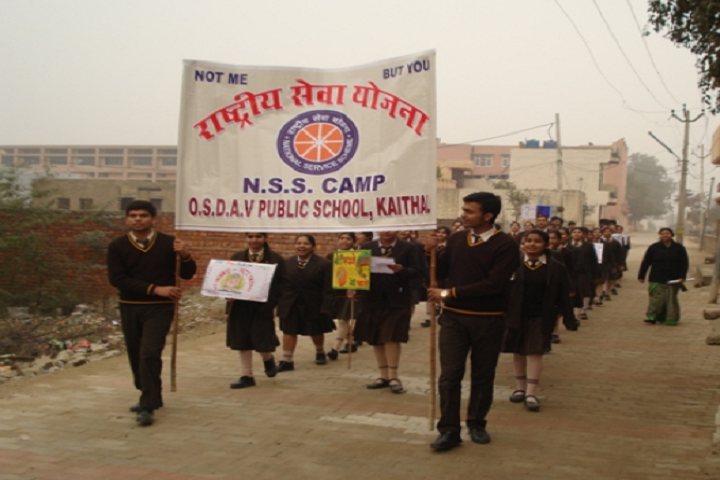 OS DAV Public School-NSS Camp