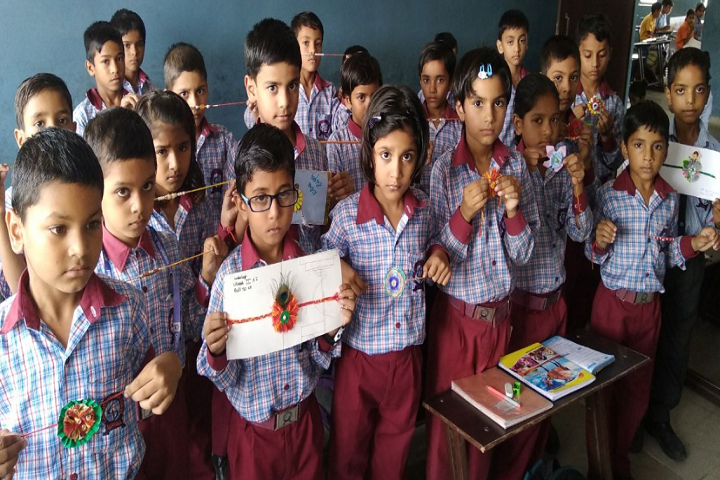 Oasis International School-Rakhi Making Competition