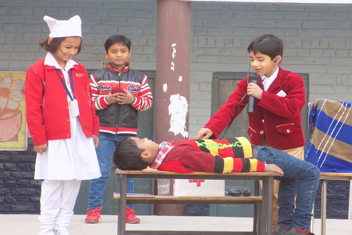 Om Shanti Shiksha Sadan Senior Secondary School-Act Performance