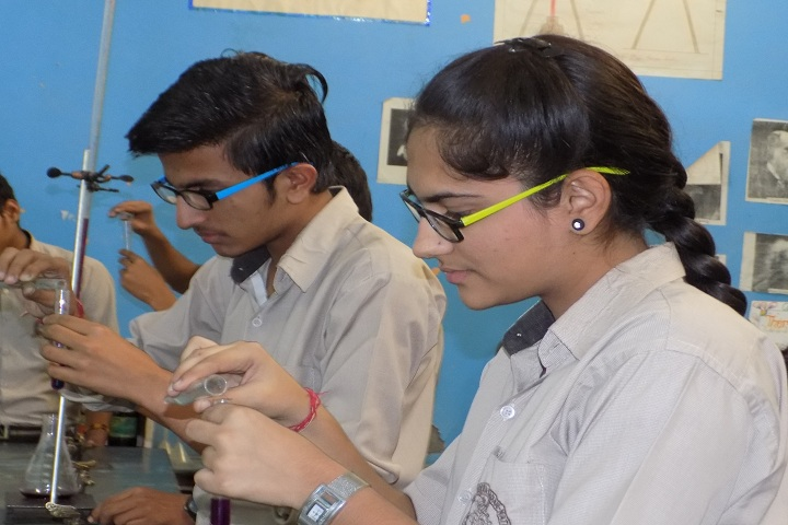Om Shanti Shiksha Sadan Senior Secondary School-Chemistry Lab