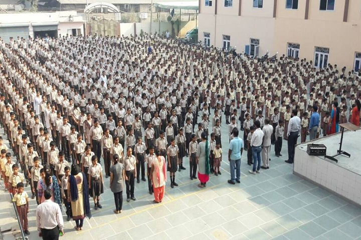 Om Shanti Shiksha Sadan Senior Secondary School-Morning Assembly