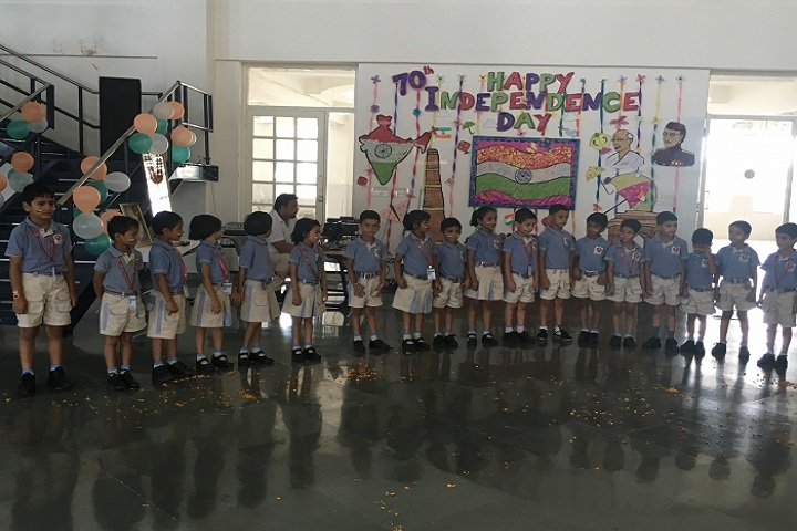 Opy World School-Independence Day Celebrations