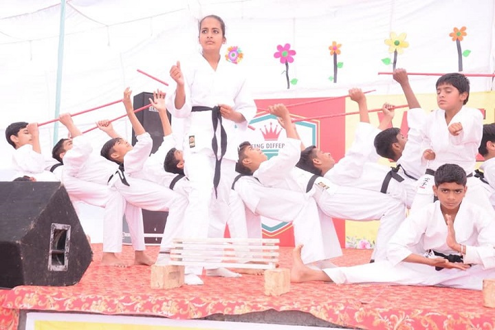 Oxford Convent School-Karate Activity
