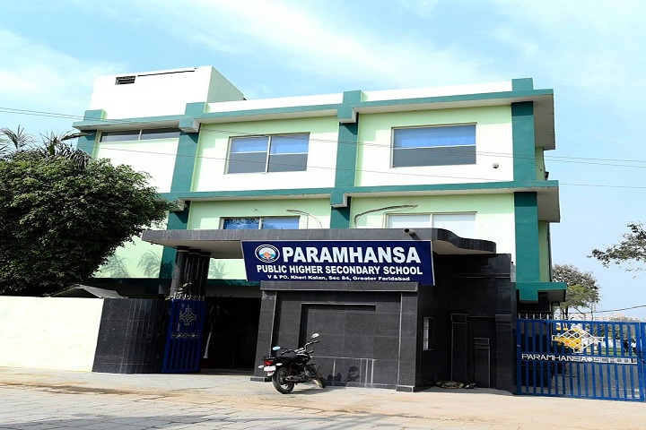 Paramhansa Senior Secondary School-Building