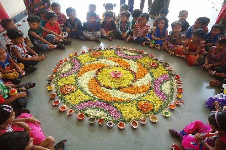 Paramount Convent Senior Secondary School-Diwali Celebrations