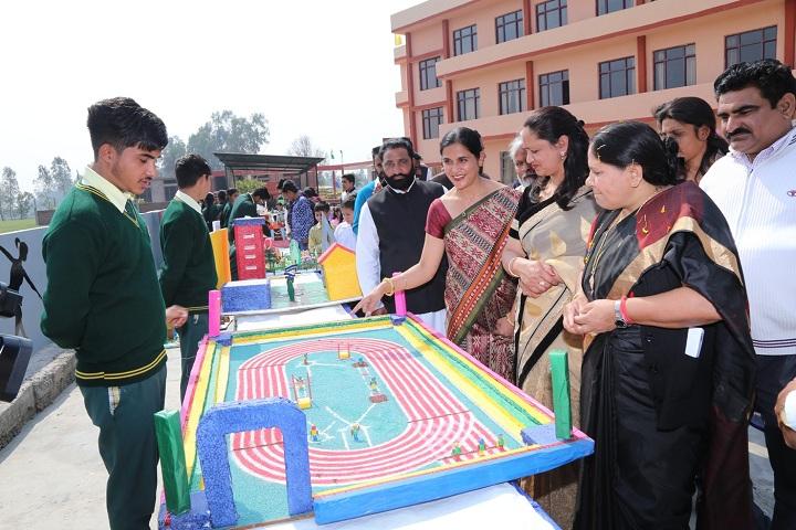 Paramount Convent Senior Secondary School-Science Exhibition