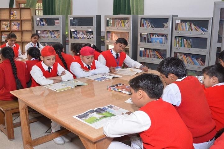 Parth Public School-Library