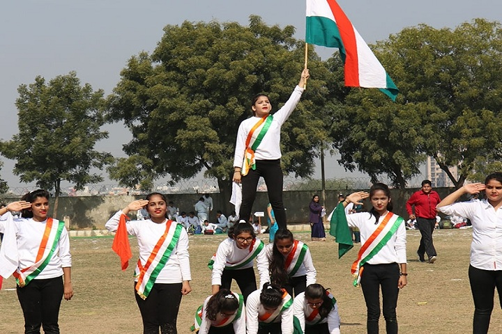 Prabhu Dayal Memorial Public School-Dance Performance on Annual Sport Meet