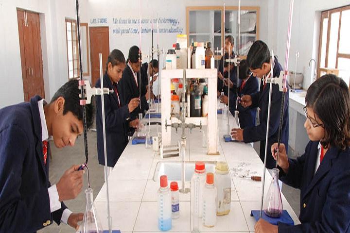 Pooja Modern Public School-Chemsitry Lab