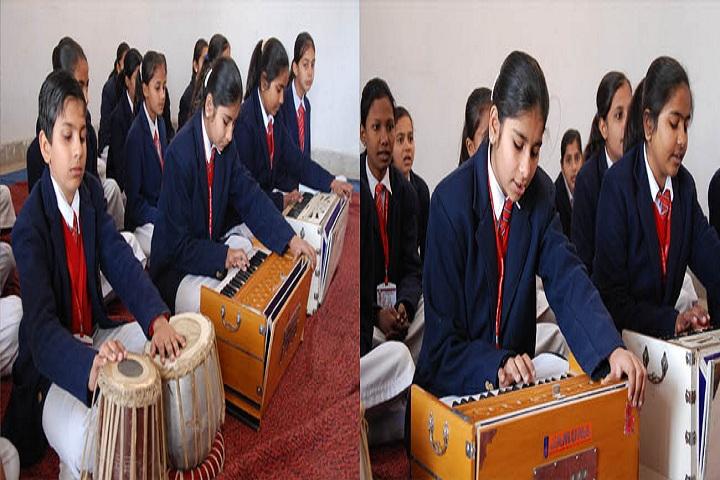 Pooja Modern Public School-Music Class