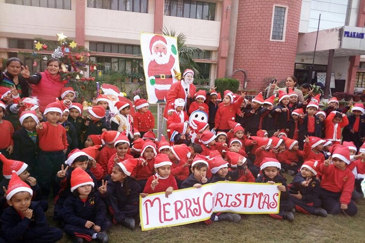 Prakash Public School-Christmas Celebrations