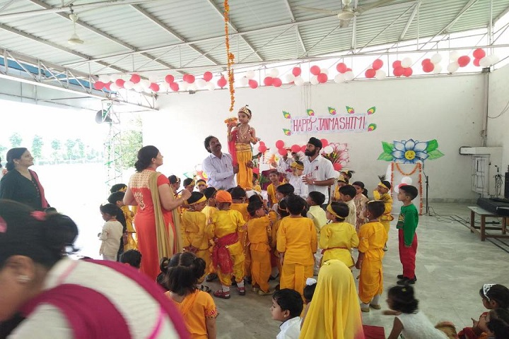 Prakash Public School-Janmashtmi Celebrations