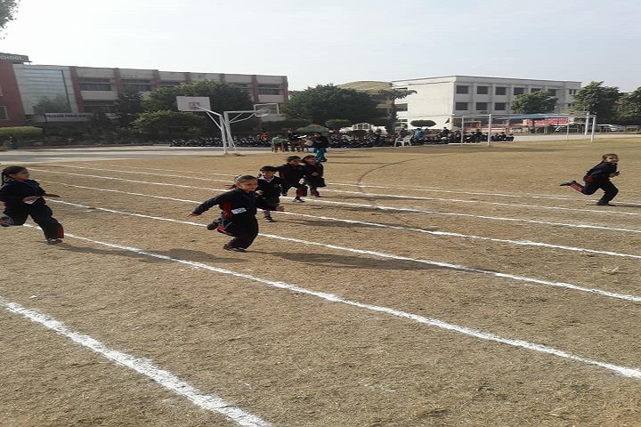 Prakash Public School-Running Competition