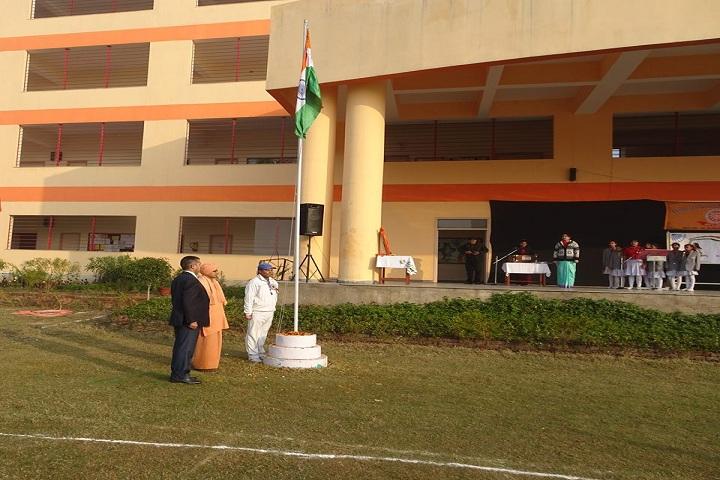 pranavanada International School-Flag Hosting