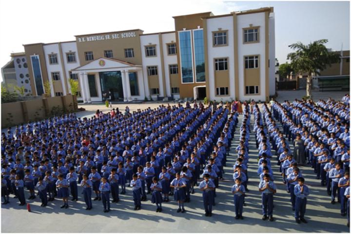 R K Memorial Senior Secondary School-Assembly