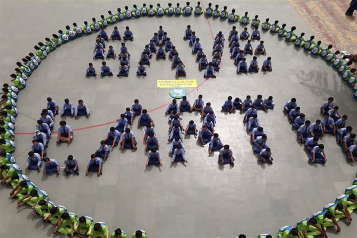 R K Memorial Senior Secondary School-Earth Day Celebrations