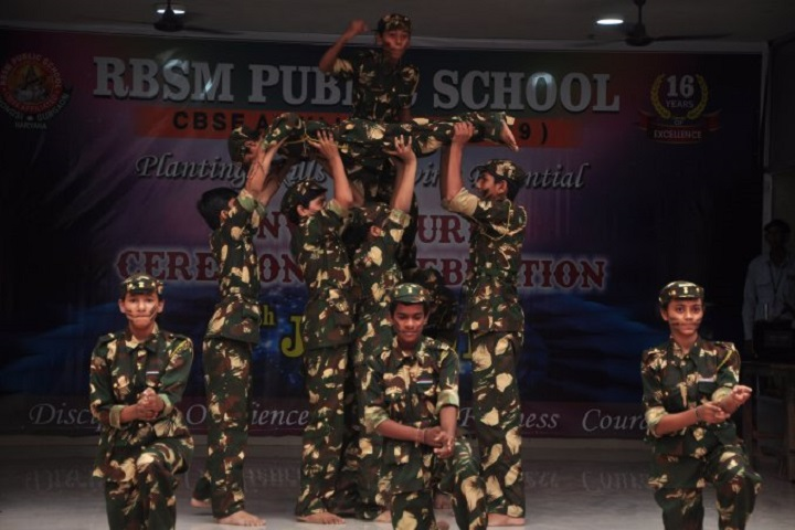 RBSM Public School-Group Dance