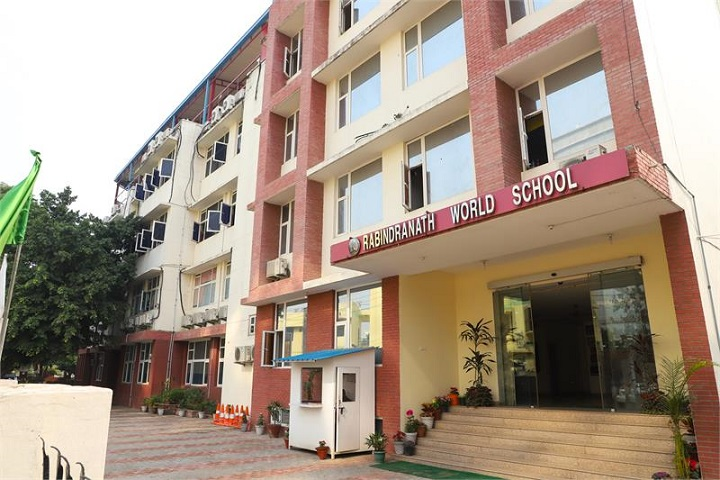 Rabindranath World School-Building