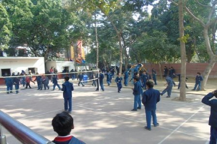 Rabindranath World School-Play Ground