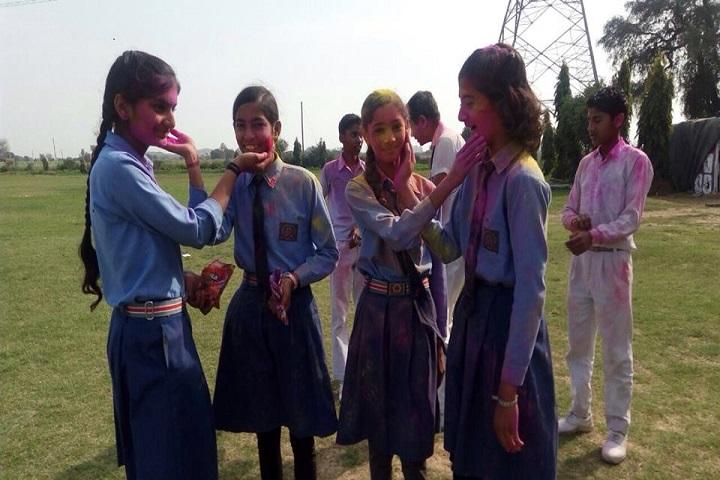Rajendra Public School-Holi Celebration