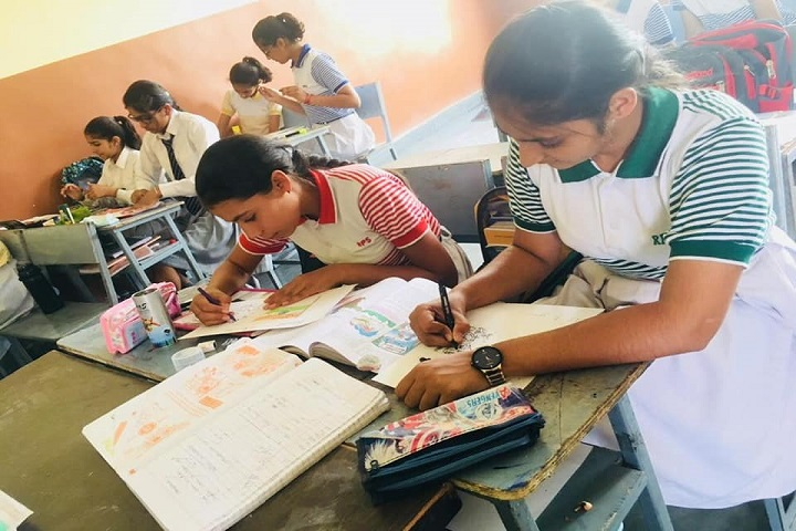 Rajendra Public School-Drawing competition