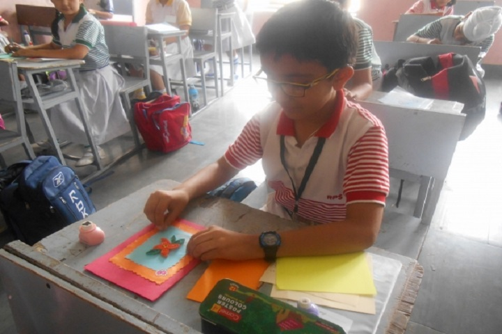 Rajendra Public School-Poster making Competition