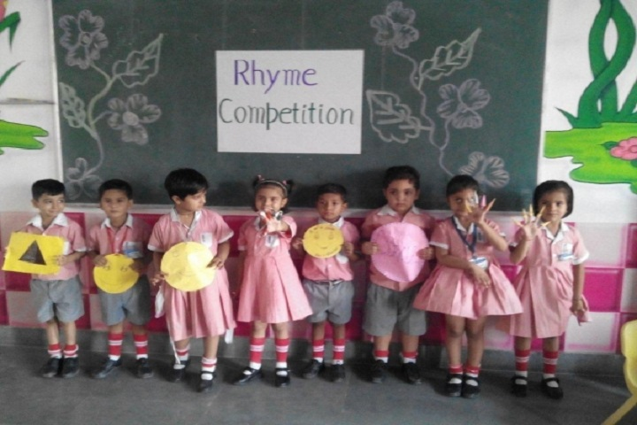 Rajendra Public School-Rhyme competition