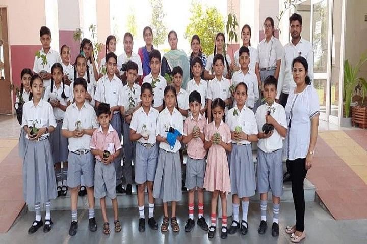 Rajendra Public School-Tree Plantation