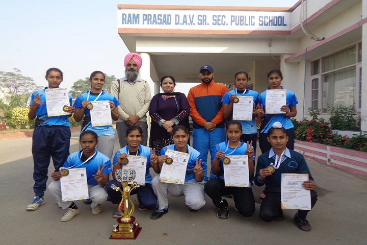 Ram Prasad Dav Public School-Athletic Meet