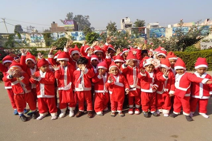 Ram Prasad Dav Public School-Christmas Celebrations