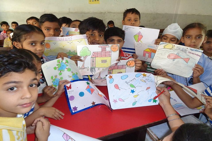 Ram Prasad Dav Public School-Drawing Class