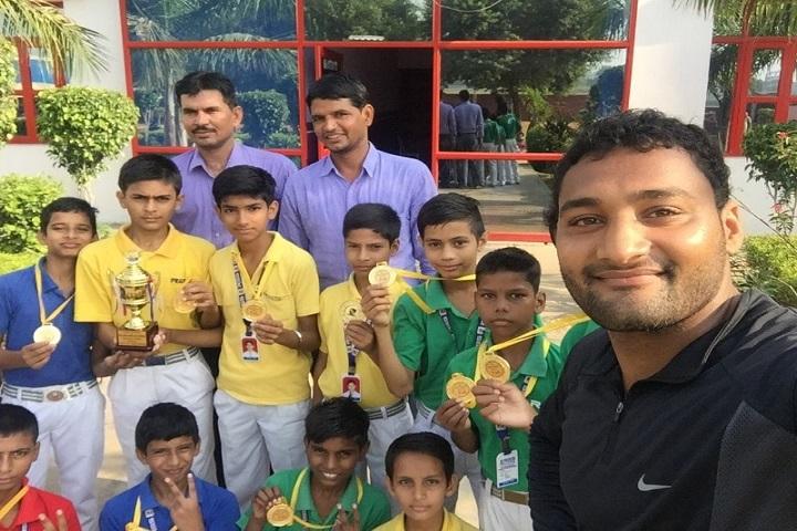 Rao Bane Singh Memorial High School-Athletic Meet