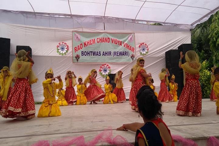 Rao Khem Chand Vidya Vihar Senior Secondary School-Dance Performance