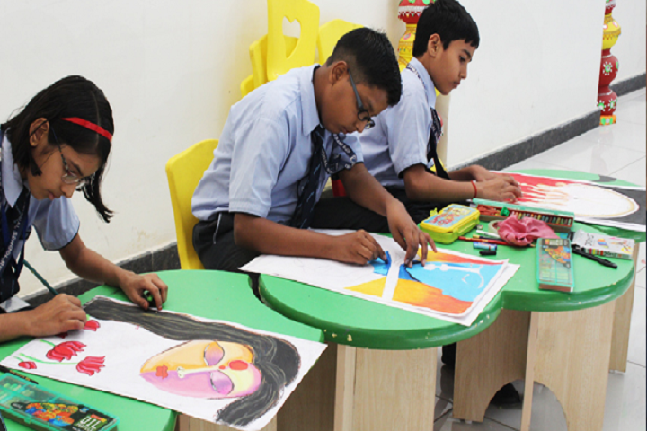 Rao Pahlad Singh Public School-Art and Craft