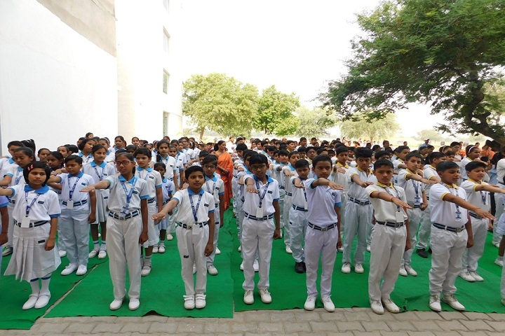 Rao Pahlad Singh Public School-Assembly