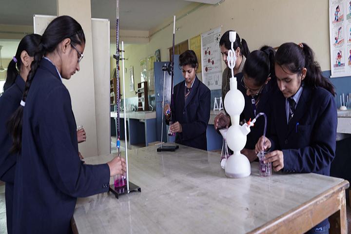 Rao Pahlad Singh Public School-Chemistry lab
