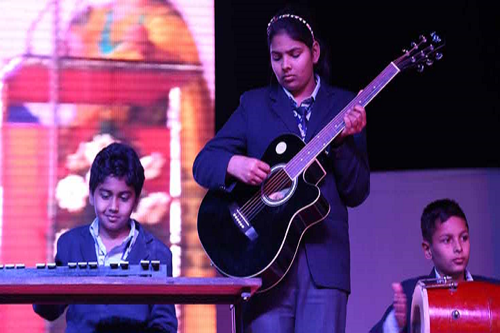 Rao Pahlad Singh Public School-Music Competition