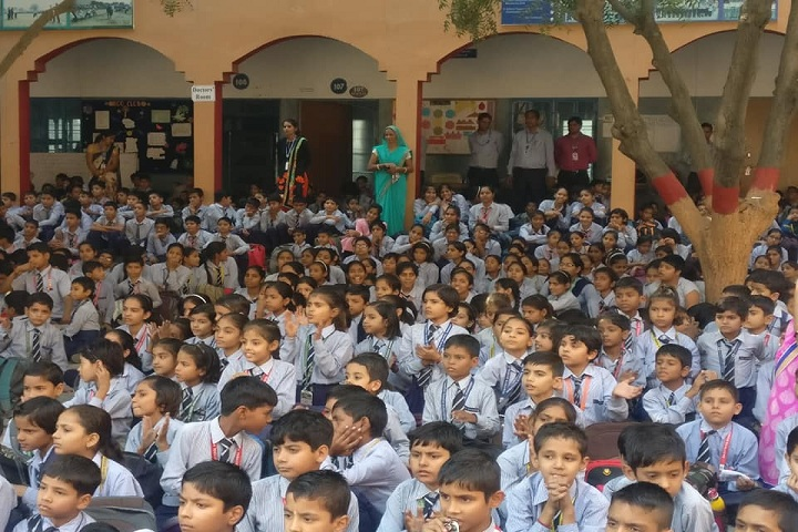 Rashtriya Senior Secondary School-Assembly