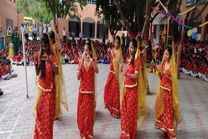 Rashtriya Senior Secondary School-Festival Celebration