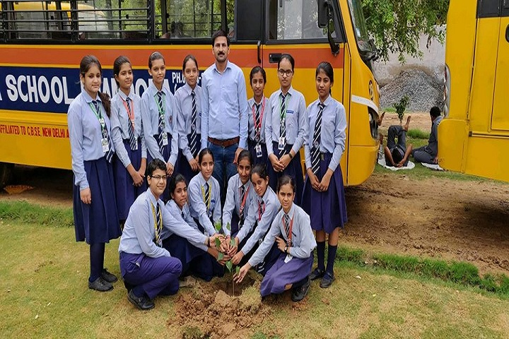 Rashtriya Senior Secondary School-Tree Plantation
