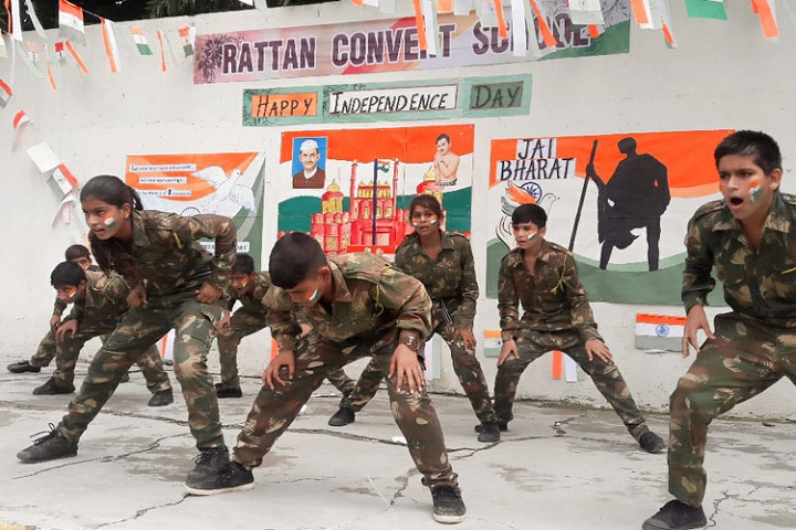 Rattan Convent School-Independence Day Celebration
