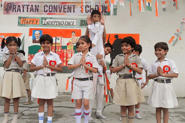 Rattan Convent School-Independence Day