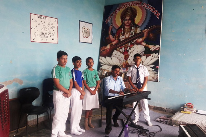 Rattan Convent School-Music Room